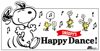 PEANUTS「HAPPY DANCE」