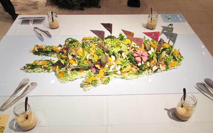 Zookies晩餐会_体の森サラダ