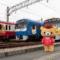 リラックマと京急電鉄のコラボ電車