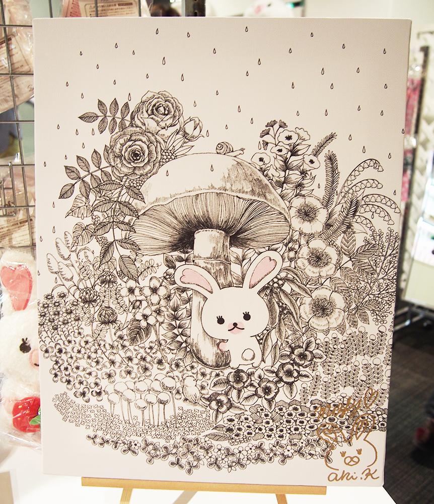 モフィ10th展キャンバスアート