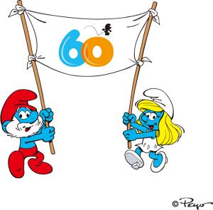スマーフ60周年