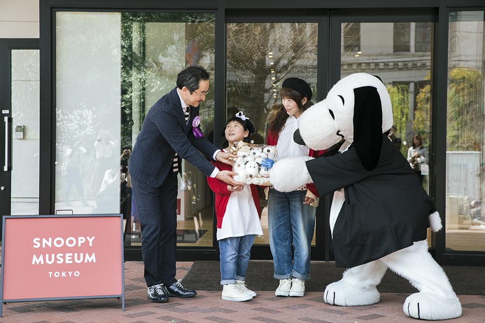 スヌーピーミュージアム_来館100万人セレモニー