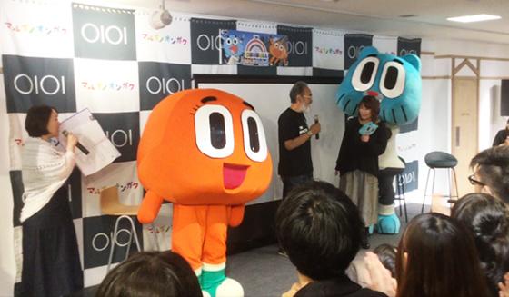 渋谷マルイ_CARTOON PARTY_ ガムボールイベント