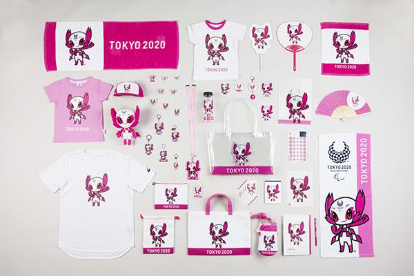 東京2020パラリンピックマスコット商品