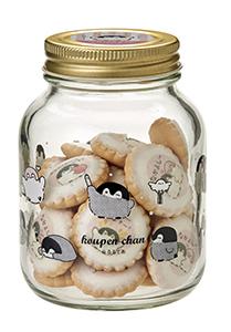 コウペンちゃん 瓶入りアイシングクッキー(ちらし柄瓶)