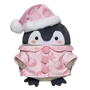 コウペンちゃん 冬毛ぷわぷわぬいぐるみS(ピンクパジャマ)