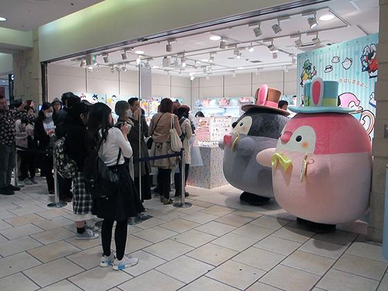 コウペンちゃんのティーパーティー開店初日