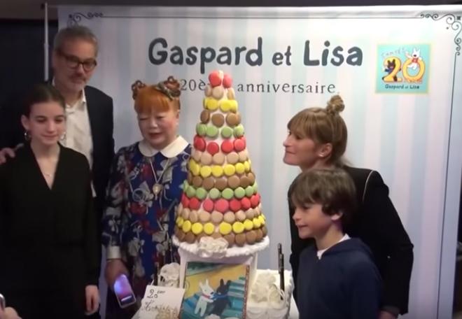 リサとガスパール20周年パーティー