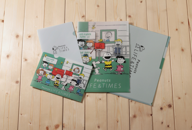 Peanuts LIFE&TIMES_限定アート_クリアファイル