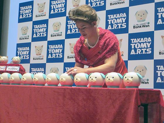 バンクワンの貯金ゲームに挑むガリットチュウ福島さん