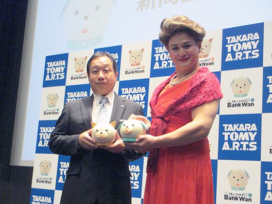 宇佐美社長とガリットチュウ福島さん