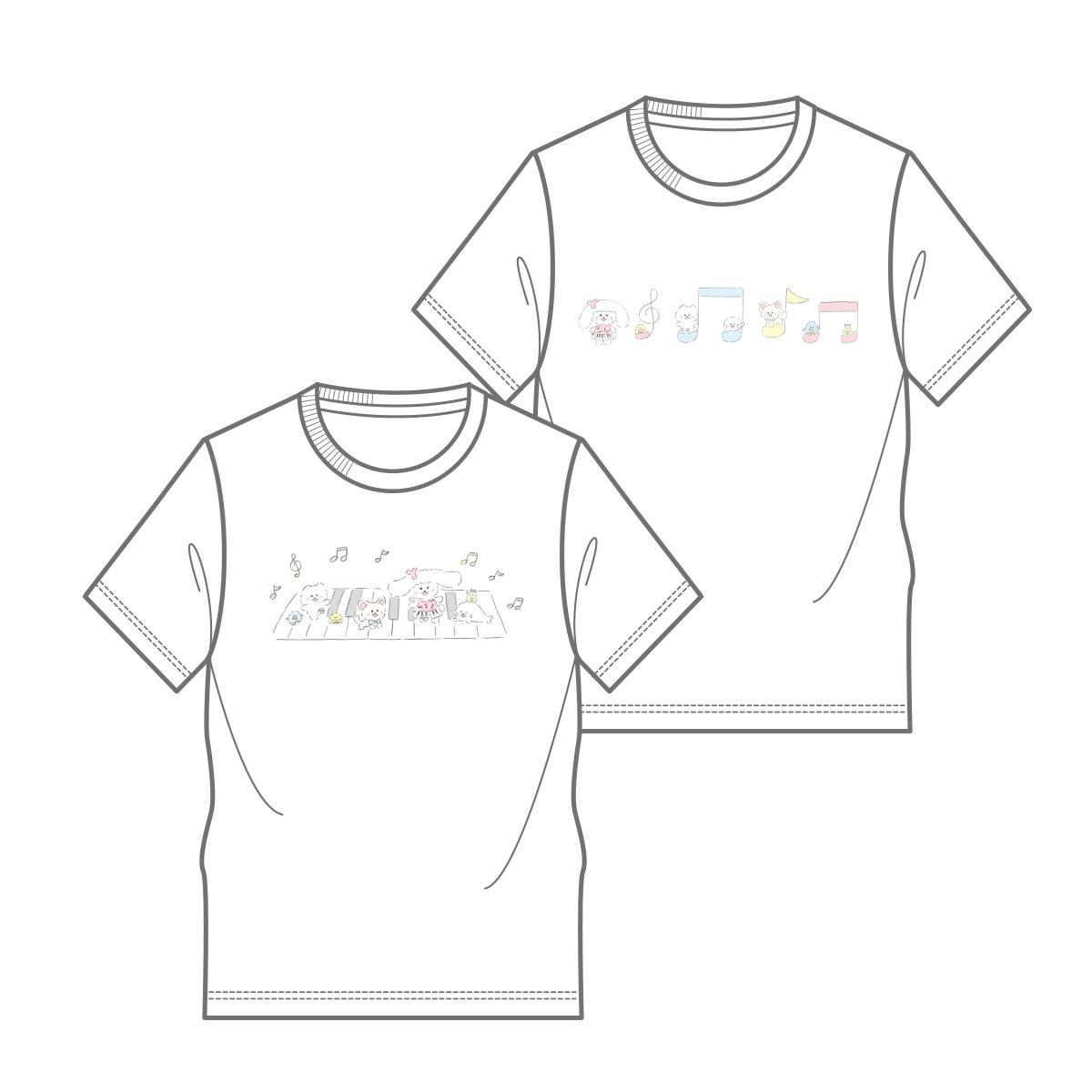 ほわころくらぶ_ゆかるん_Tシャツ