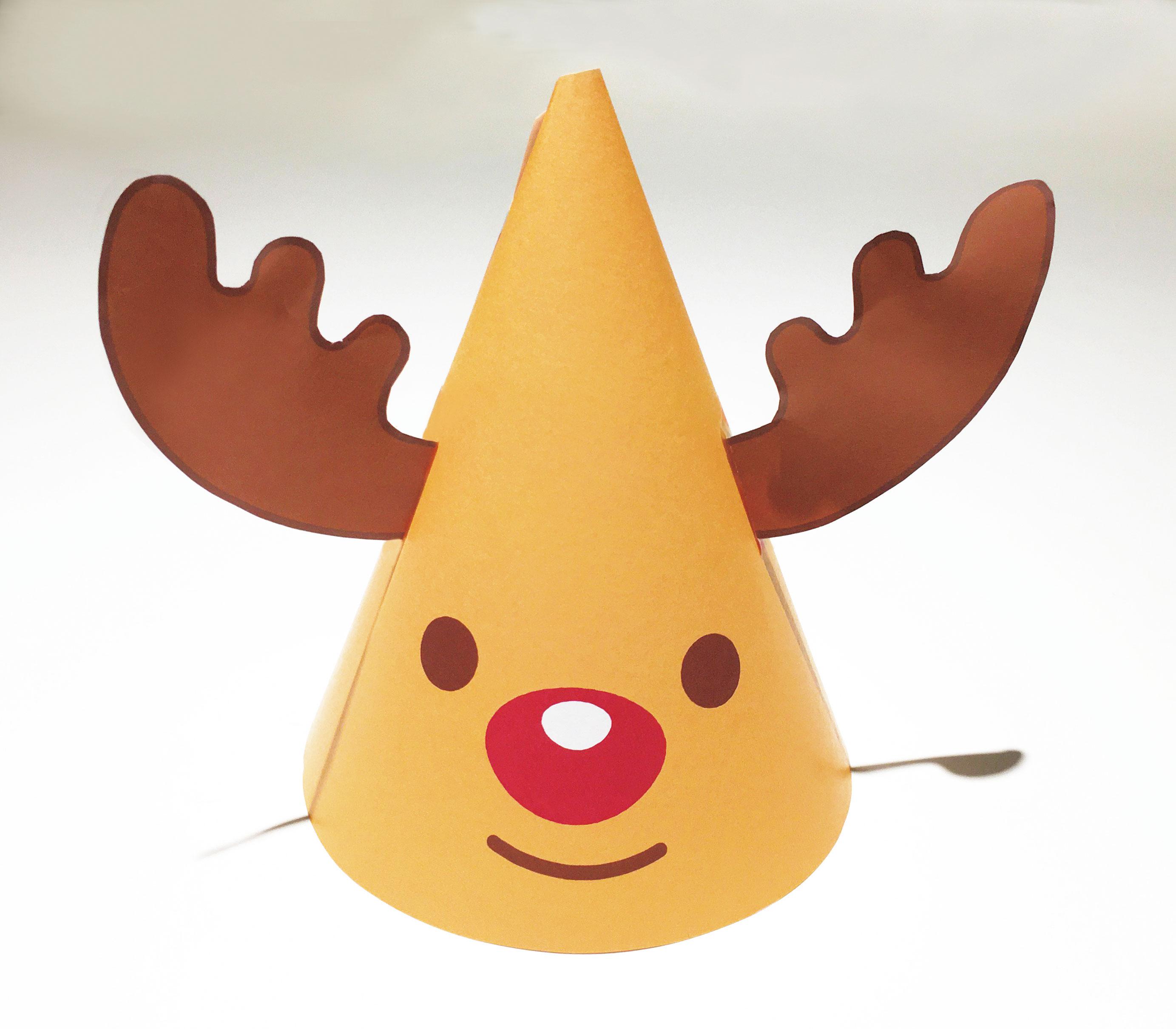 もふもふクリスマスランド_トナカイ帽子