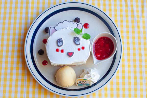 純喫茶ふなっしー_ふにゃっしーパンケーキ