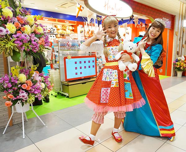 ハムリーズ東京駅店_開店初日