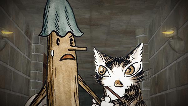 猫のダヤン「ダヤンとジタン」