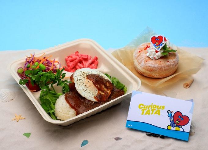 BT21カフェ_TATA :ロコモコ丼