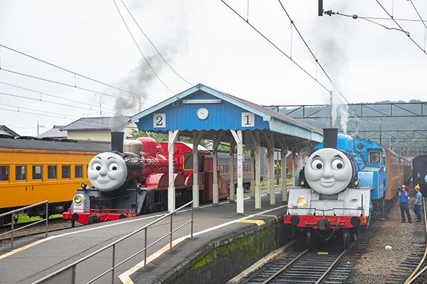 大井川鐵道トーマス号ジェームス号