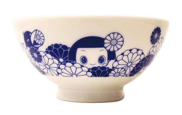 チコちゃん名古屋祭り_お茶碗
