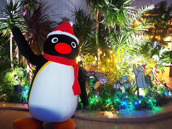 ピングークリスマス_フォトスポット