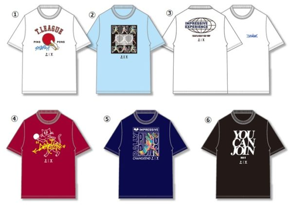 T.LEAGUE×WEGO_Tシャツ