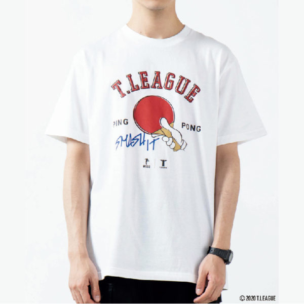 T.LEAGUE×WEGO_Tシャツ2