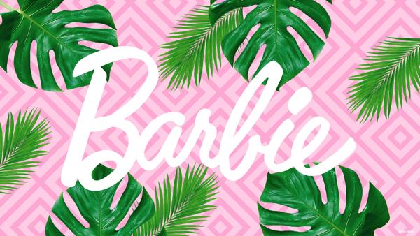 バーチャル背景_Barbie