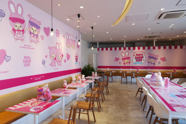 POP'n CANDY CLUB店内
